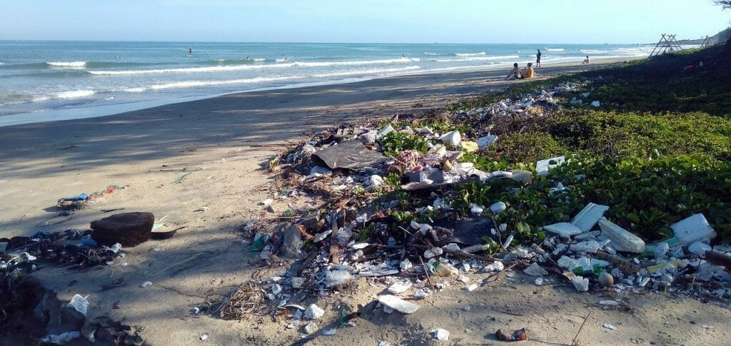 A polluted beach campaigners could solve on Earth Day 2021