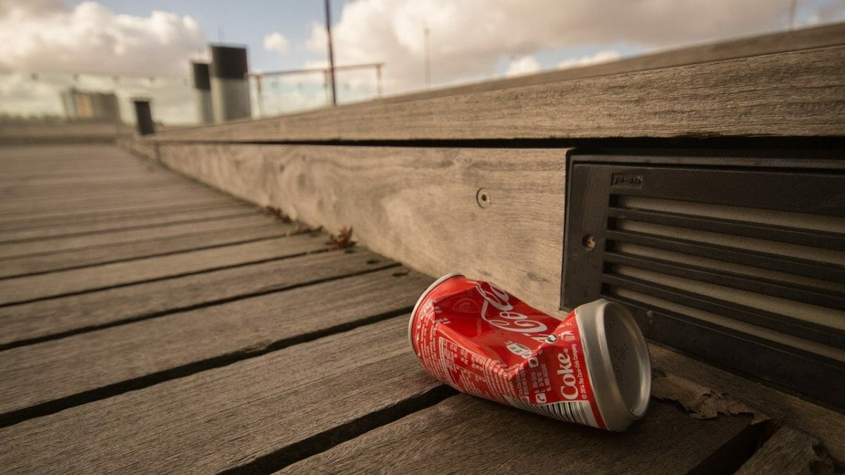 Litter that needs picking up for Great British Spring Clean 2021