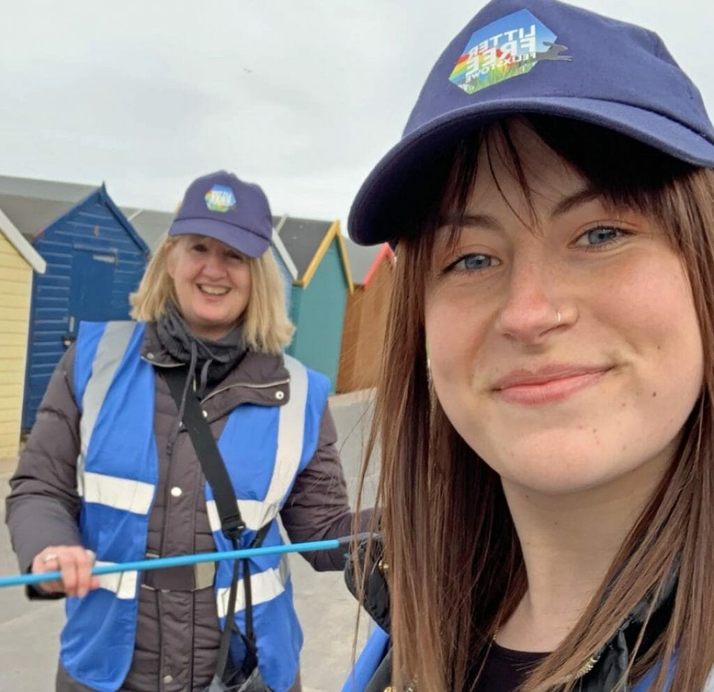 Litter-free Felixstowe in Suffolk