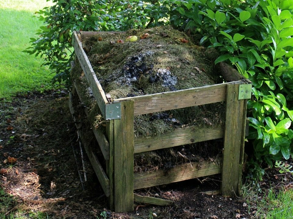 A good setup for composting for beginners