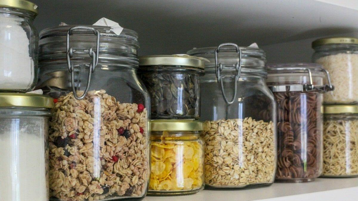 Glass jar upgrades for Plastic-Free July