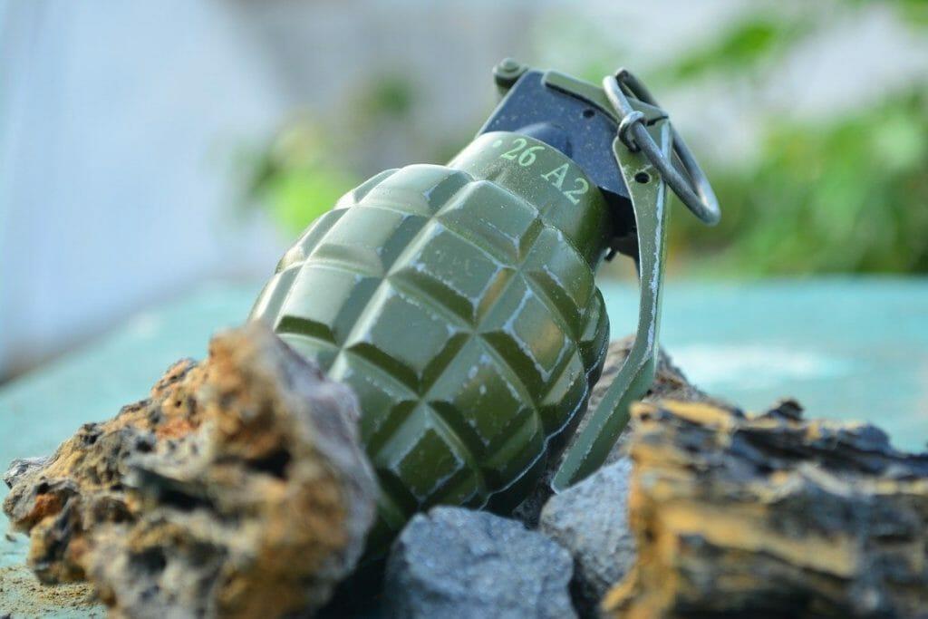 Grenade found in skip